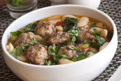 Meatball stew Stock Photos