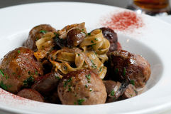 Meatball Stroganoff Royalty Free Stock Photography