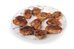 Meatball turkey kofte turkish Royalty Free Stock Photography