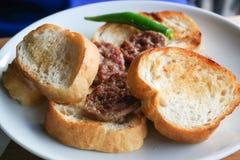 Meatball  Turkish cuisine Stock Photography
