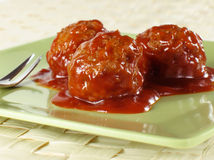 meatballs коктеила Стоковое Фото