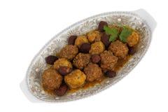 meatballs миндалин Стоковая Фотография