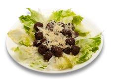 meatballs салата Стоковые Фотографии RF