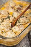 Meatballs с рисом Стоковые Изображения
