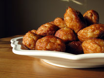 Meatballs 2. A lot of tasty meatballs on a white plate Royalty Free Stock Photo