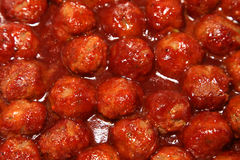 Meatballs. Italian meatballs in tomato sause Royalty Free Stock Photos