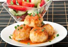 Meatballs Imagens de Stock Royalty Free
