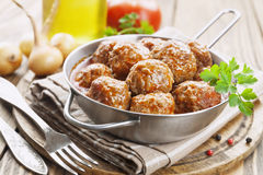 meatballs Photographie stock libre de droits