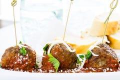 meatballs Photos libres de droits