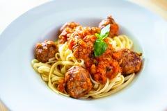 meatballs Imagem de Stock