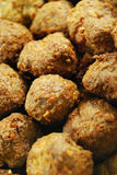 Meatballs background Royalty Free Stock Images