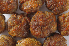 Meatballs backgrounds Royalty Free Stock Photography