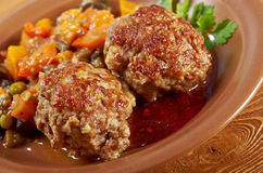 Meatballs  beef Royalty Free Stock Photos