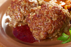 Meatballs  beef Royalty Free Stock Image