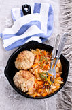 Meatballs with braised cabbage Royalty Free Stock Photo