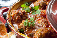 Meatballs Casserole Royalty Free Stock Image