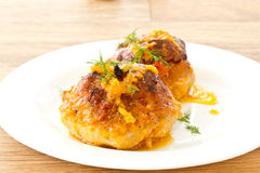 Carne dos Meatballs imagens de stock