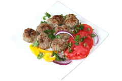 Meatballs da vitela   Imagem de Stock