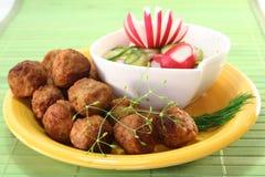 Meatballs de sueco Foto de Stock