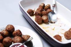 Meatballs for dinner Stock Photography
