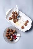 Meatballs for dinner Stock Images
