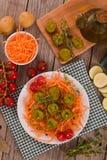 Meatballs do vegetariano Imagens de Stock
