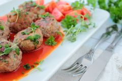 Meatballs Stock Photography