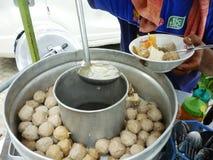Meatballs from malang Stock Photos