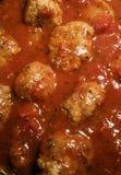 Meatballs and Marinara Royalty Free Stock Photo