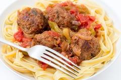 Meatballs meal Stock Photo