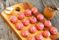 Meatballs meat food. Fresh Meatballs meat food. Close up view Royalty Free Stock Image