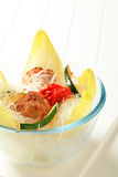 Meatballs and noodles Royalty Free Stock Photography