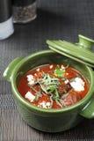 Meatballs och tomatsås Royaltyfria Bilder