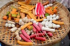 Meatballs, sausage, Dumpling, Imitation Crab Stick, and Vietname Stock Photography