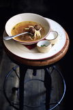 Meatballs soup Royalty Free Stock Images