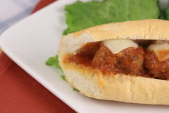Meatballs sub Royalty Free Stock Images