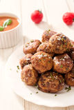 Meatballs time Royalty Free Stock Images