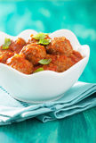 Meatballs with tomato sauce in bowl Royalty Free Stock Image