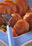 Meatballs with tomato sauce - closeup Royalty Free Stock Image