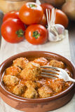 Meatballs with tomato sauce Royalty Free Stock Image