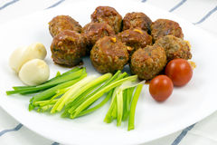 Meatballs with tomato sauce Stock Photos