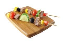 meatgrönsaker Royaltyfri Foto