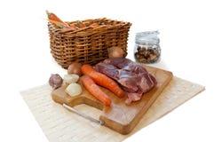meatgrönsaker Royaltyfri Fotografi