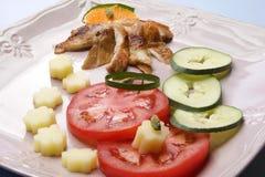 meatgrönsaker Royaltyfria Foton