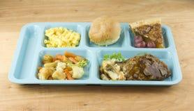 meatloaf γεύματος καφετερίων Στοκ Εικόνα