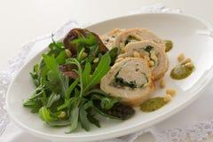 Meatloaf με τα λαχανικά Στοκ Εικόνες