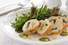 Meatloaf με τα λαχανικά Στοκ Φωτογραφία