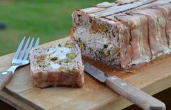 Meatloaf με την Τουρκία και το pistaachio Στοκ Εικόνες