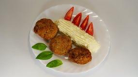 Meatloaf πιάτο Στοκ Φωτογραφίες