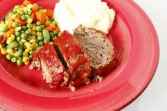 meatloaf πλευρές Στοκ Φωτογραφία